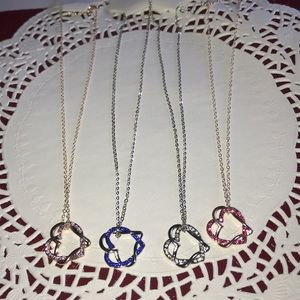 Bundle Necklace & Heart Pendant